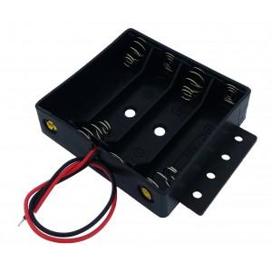 Батарейный отсек UM-3x4 (4 x AA) c ушами