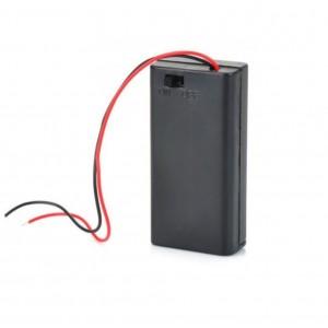 Батарейный отсек UM3x2 (2 x АА) с выключателем купить