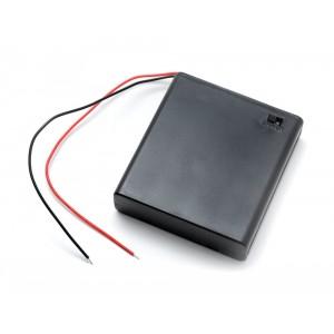 Батарейный отсек 4 x АА с выключателем купить