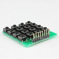 Кнопочная матрица 4х4
