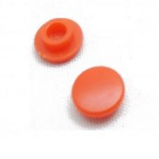 Колпачок для кнопки красный круглый, 7.9х4мм