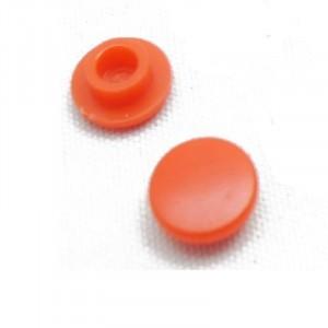 Колпачок для кнопки красный круглый, 7.9х4мм купить