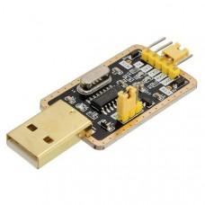 Преобразователь USB - UART на CH340 (RTS+CTS)