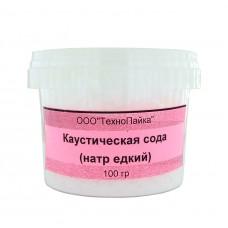 Каустическая сода 100г (едкий натр)