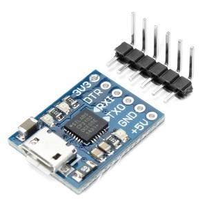 Преобразователь USB - UART на CP2102 (micro USB) купить