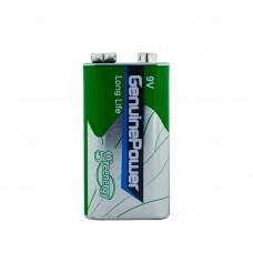 Батарейка Крона GenuinePower 6F22 9В
