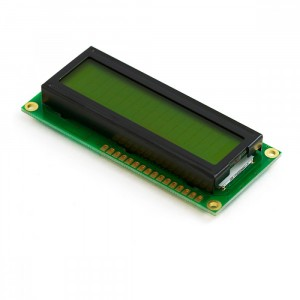 Символьный дисплей 1602 (зеленый) купить