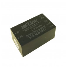 AC/DC конвертер HLK-5M12, 12В 5Вт