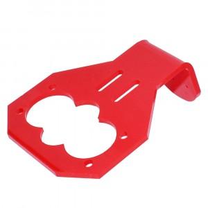 Держатель для датчика HC-SR04, красный пластик купить