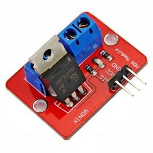 Модуль MOSFET транзистора IRF520 (силовой ключ) купить