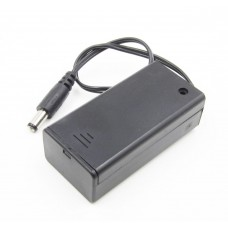 Батарейный отсек для кроны с выключателем
