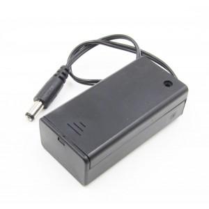 Батарейный отсек для кроны с выключателем купить