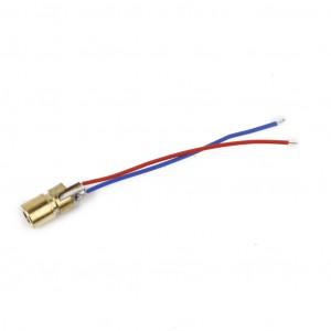 Лазерный диод (650нм, 5В, 6мм, 5мВт) купить