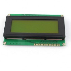 Символьный дисплей 2004 Зелёный