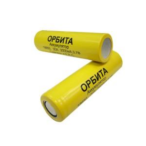 Аккумулятор высокотоковый Орбита Li-Ion 18650 2000мАч 20А купить