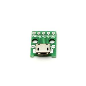 Micro-USB (разъем) плата-переходник купить