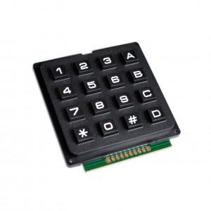 Клавиатура черная NUMPAD 4х4
