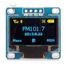 "OLED дисплей 0.96"" 128x64, I2C желтый и синий"
