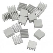 Радиатор алюминиевый ребристый 8х8х5 мм
