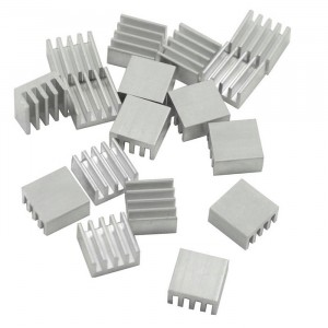 Радиатор алюминиевый ребристый 20х20х6 мм купить