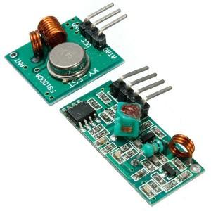 Передатчик + приемник XY-MK-5V 433Mhz купить