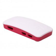 Корпус для Raspberry Pi Zero, бело-красный ABS