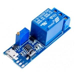 Модуль реле 5В с таймером и USB
