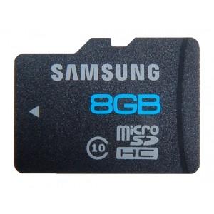 Карта памяти Samsung microSD Class10 8Гб купить