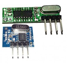 Супергетеродинный 433 МГц приемник + передатчик