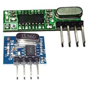 Супергетеродинный 433 МГц приемник + передатчик купить
