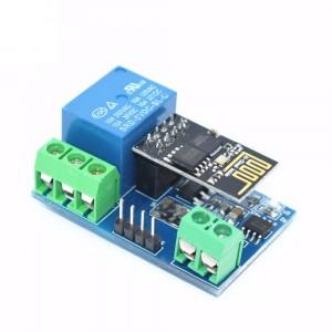 Модуль одноканального электромеханического реле 5В с Wi-Fi ESP-01