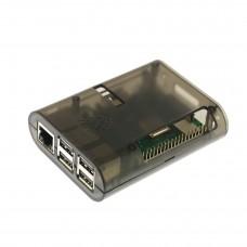 Прозрачный дымчатый корпус для Raspberry Pi (B+, 2, 3)