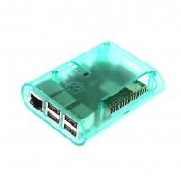 Прозрачный зелёный корпус для Raspberry Pi (B+, 2, 3)