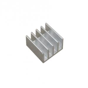 Радиатор алюминиевый ребристый 14х14х10 мм