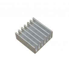 Радиатор алюминиевый ребристый 14х14х6 мм