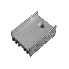 Радиатор алюминиевый ребристый 15х10х20 мм