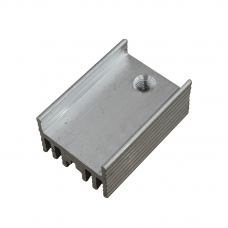 Радиатор алюминиевый ребристый 15х10х22 мм