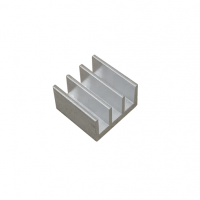 Радиатор алюминиевый ребристый 16х16х10 мм