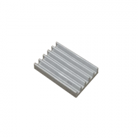 Радиатор алюминиевый ребристый 20х14х4 мм