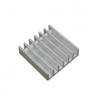 Радиатор алюминиевый ребристый 20х20х6 мм
