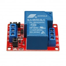Модуль реле 12В 30А 1-канал электромеханическое с опторазвязкой