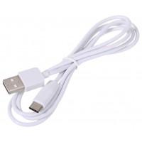 Type-C USB дата кабель 1м, белый