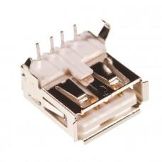 Разъем USB type A угловой