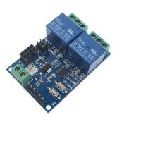 Модуль двухканального электромеханического реле 5В с Wi-Fi